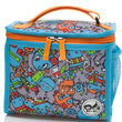 Zip & Zoe Zipped Lunchie and Ice Pack Robot blue