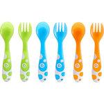 Munchkin Multi Forks and Spoons - Set van 3 lepels en 3 vorken