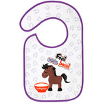 Babyono badstof slab met paard
