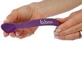 b.box Flexible Silicone Spoons Red/Blue - 2 Stuks