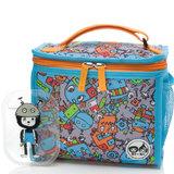 Zip & Zoe Zipped Lunchie en Ijspak Robot Blauw