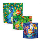 Squiz 3-Pack Multifunctionele Snackzakjes - De Flamboyante Collectie
