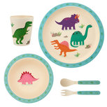 Sass & Belle Roarsome Dinosaurs Bamboe Dinerset