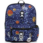 Zip & Zoe Backpack Age 3+ Spaceman Navy