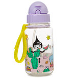 Zip & Zoe Drinking Bottle with Straw Llama