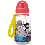 Zip & Zoe Drinking Bottle with Straw Monster