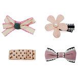 Stijlvolle Set van 4 Roze Haarspeldjes (4 stuks)