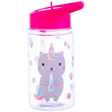 Sass & Belle Drink up Luna Caticorn Waterfles