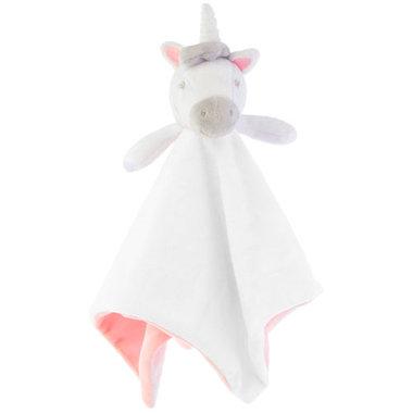 Sass & Belle Evie Unicorn Cuddle Double Layer Knuffeldoekje
