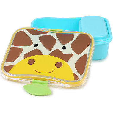 Skip Hop Zoo Little Kid Lunch Kit Giraffe