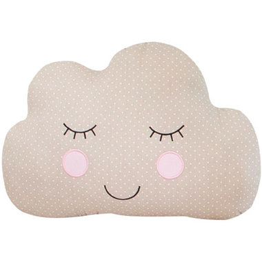 Sass & Belle Sweet Dreams Cloud Decoratief Kussen Bruin
