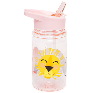 Petit Monkey drinkbeker shiny lion roze