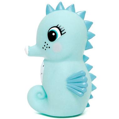 Petit Monkey nachtlampje seahorse blue