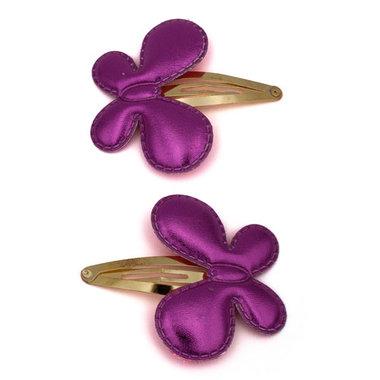 Haarspeldjes Roze Vlinders (2 stuks)