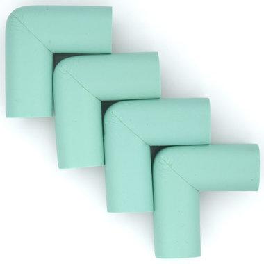 Hoekbeschermers L-vorm Aqua (4 stuks)