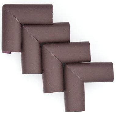 Hoekbeschermers L-vorm Bruin (4 stuks)