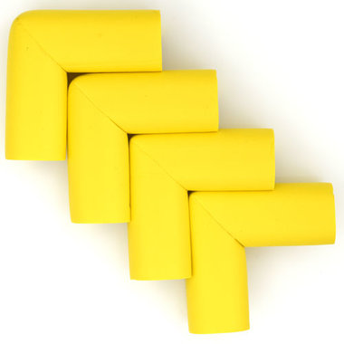 Hoekbeschermers L-vorm Geel (4 stuks)
