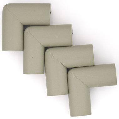 Hoekbeschermers L-vorm Grijs (4 stuks)