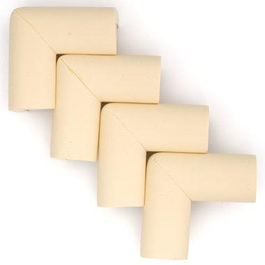 Hoekbeschermers L-vorm Beige (4 stuks)