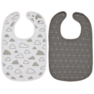 Meyco Slab Triangle/Little Clouds - Set van 2
