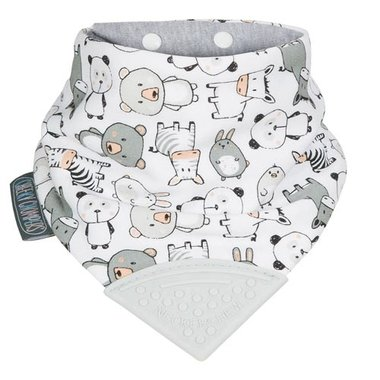 Cheeky Chompers Bib Panda Pals Neckerchew