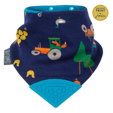 Cheeky Chompers Bib Reynards Farm by Joules Neckerchew