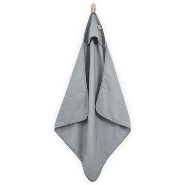 Jollein Badcape hydrofiel 75x75cm Mini dots mist grey