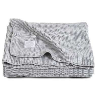 Jollein Deken 100x150cm Basic knit light grey