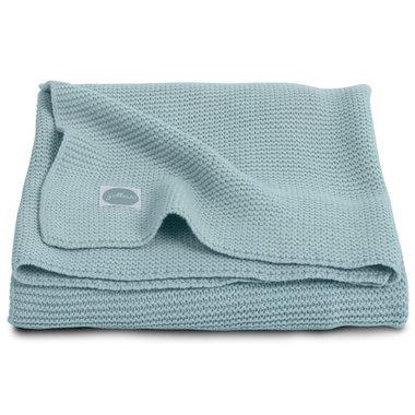 Jollein Deken 100x150cm Basic knit stone green