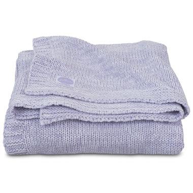Jollein Deken 75x100cm Melange knit soft lilac