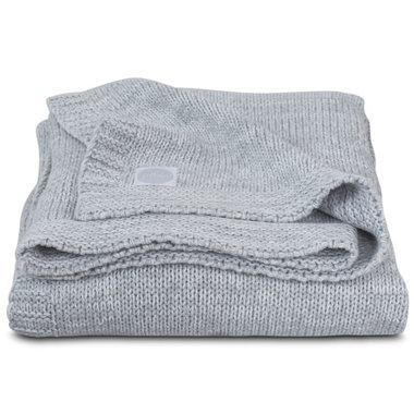 Jollein Deken 75x100cm Melange knit soft grey