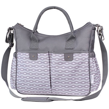Babyono So City de Luxe Grey Verzorgingstas