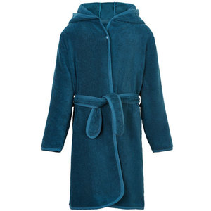 Pippi biologische badjas ice blue 86/92