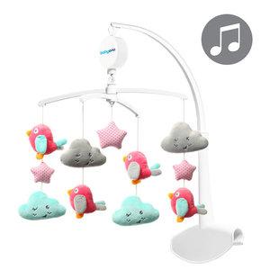 Babyono Wolkjes & Vogeltjes Muziekmobiel
