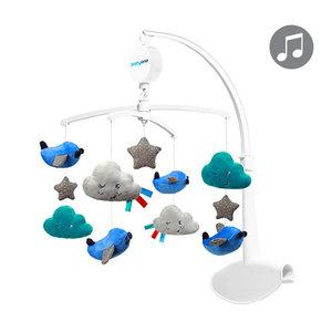 Babyono Vliegtuigjes Muziekmobiel