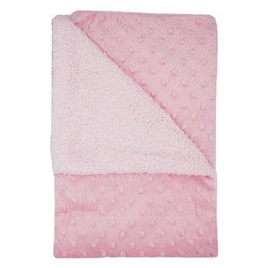 f9f7c509696 Baby Blanket with Nubs Pink 75 x 100 cm