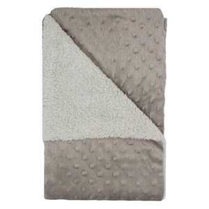 9cb5a441656 Baby Blanket With Nubs Grey 75 x 100 cm
