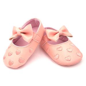 Baby Ballerina's Roze Met Hartjes