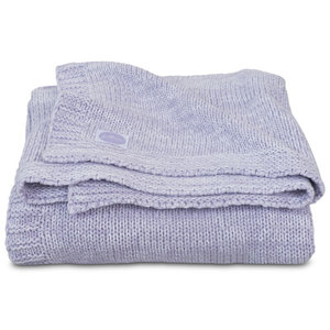 b8199345854 Jollein Blanket 75x100cm Melange Knit Soft Lilac - Tiny Giggles